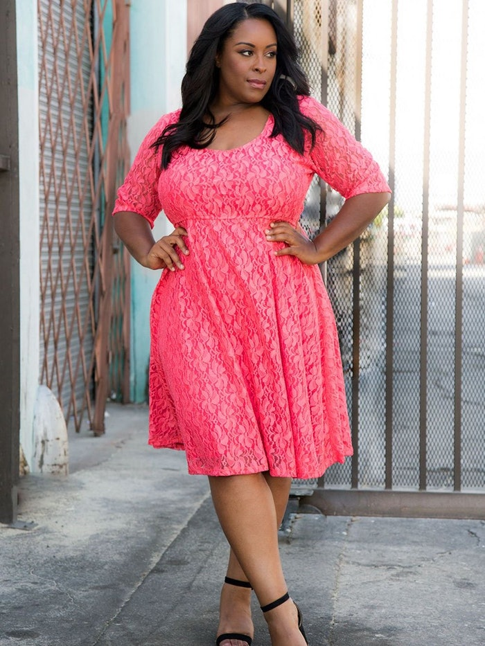 Harlow Lace Dress: image 1