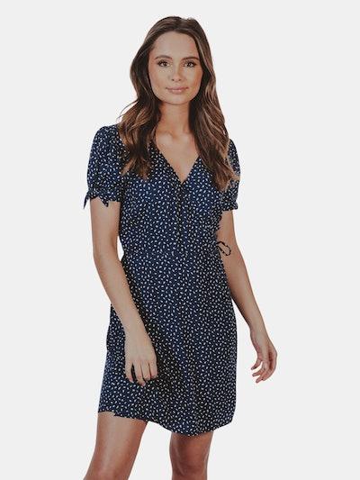 Mini Wrap Dress: image 1