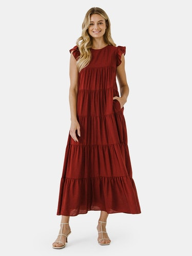 Tiered Maxi Dress: additional image