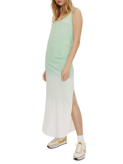 Knit Fade-Out Spagetti Maxi Dress: image 1