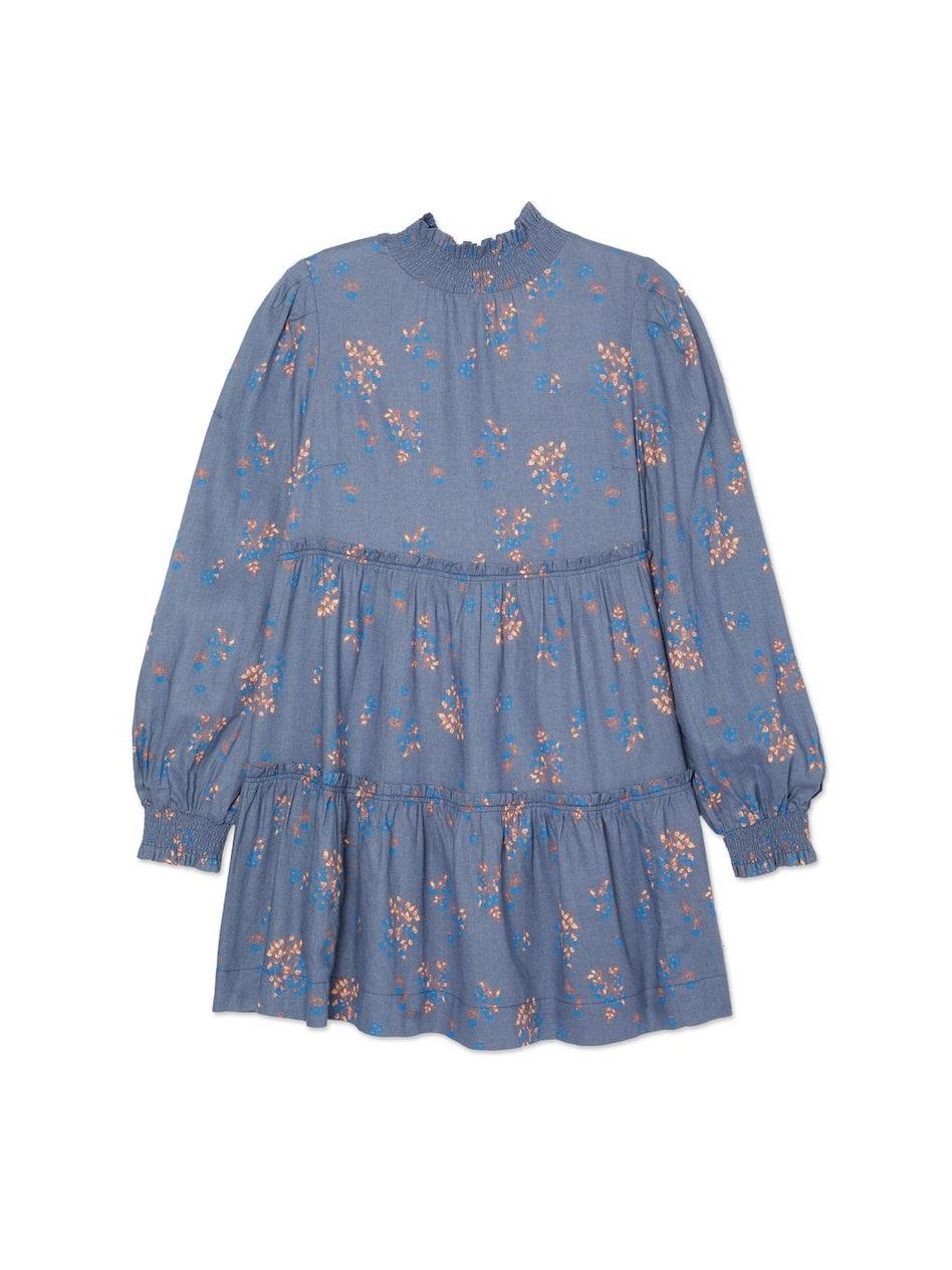 Petit Fours Smock Neck Mini Dress: additional image