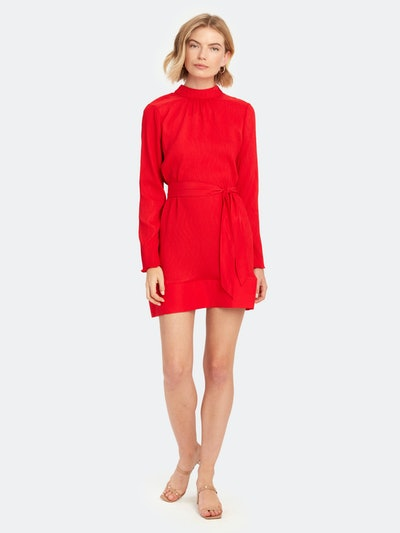 Comes in Waves Mini Dress: image 1