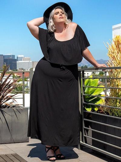Morgan Maxi Dress: image 1