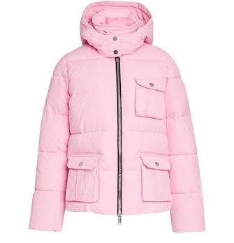 Heavy tech coat: image 1