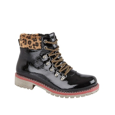 Cipriata Womens/Ladies Africa PU Ankle Boots (Black): image 1