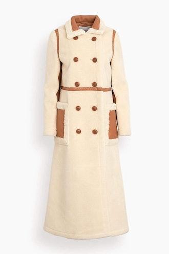 Bibi Coat in Off White: image 1