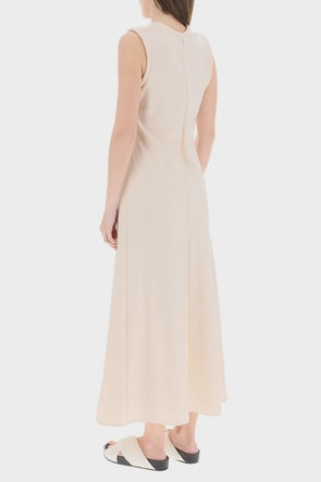 Jil Sander Long Satin Dress: image 1