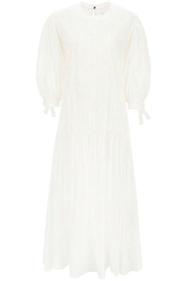 Jil Sander Long Cotton Dress: image 1