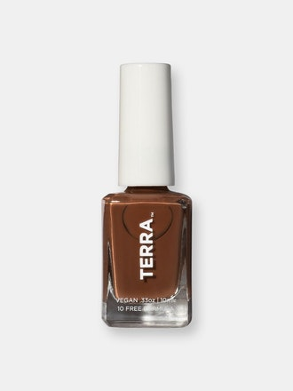 Terra Nail Polish No. 13 Dark Tan: image 1
