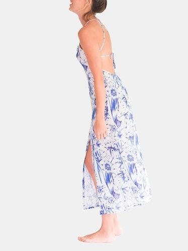 Mila Tropical Paradise Slip Dress: image 1
