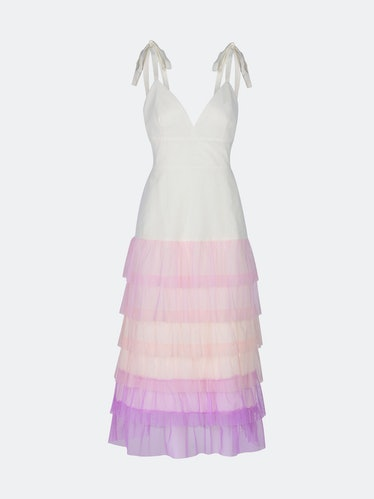 Angelica Maxi Dress - Rainbow: image 1