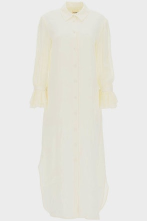 Khaite Mari Chemisier Dress: image 1