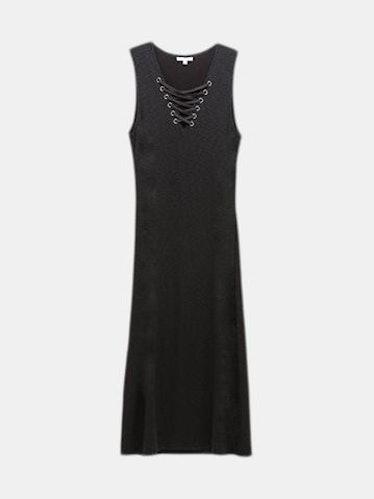 Mercer Ribbed Knit Dress: image 1