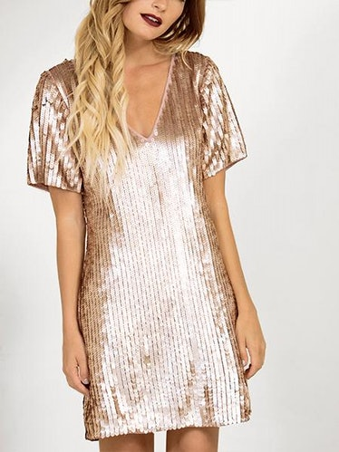 Starlight Shift Dress: image 1