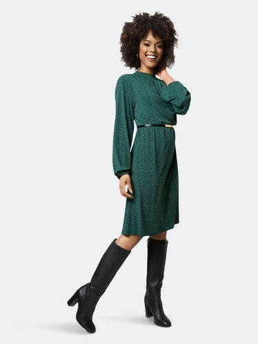 Dana Dress In Zig Zag Amazon: image 1