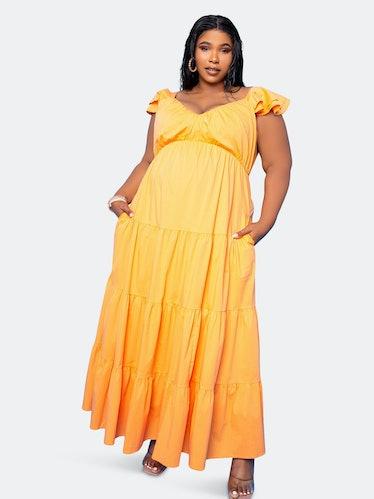 Tiered Ruffle Sundress: image 1