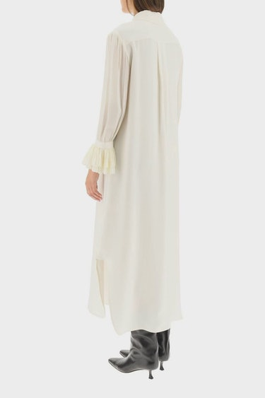 Khaite Mari Chemisier Dress: additional image