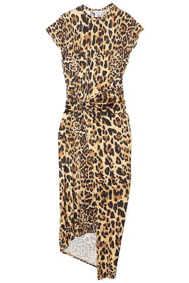 Wrap Dress in Leopard: image 1