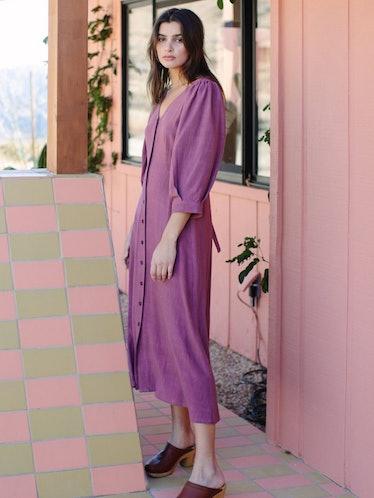 Linen Agnes Dress: image 1