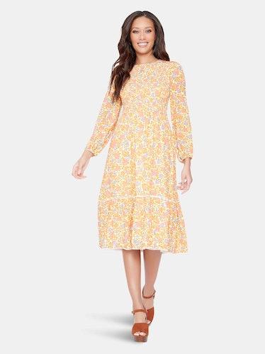 Cali Dreaming Midi Dress: image 1