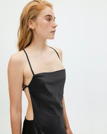 Fuzzy Dress Black: image 1