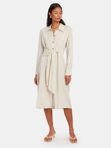 Blake Midi Shirt Dress: image 1