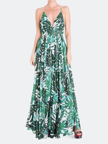 Enchanted Garden Maxi Dress - Palm Beach Green: image 1