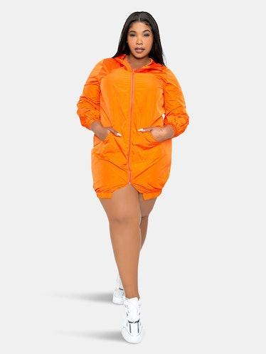 Sporty Zip-up Dress: image 1