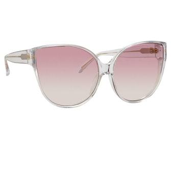 Linda Farrow 656 C12 Cat Eye Sunglasses: image 1