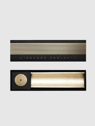 Circa Brass Incense Burner: additional image