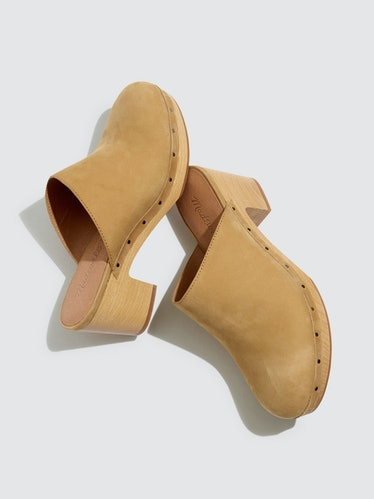 The Ayanna Leather Clog: image 1