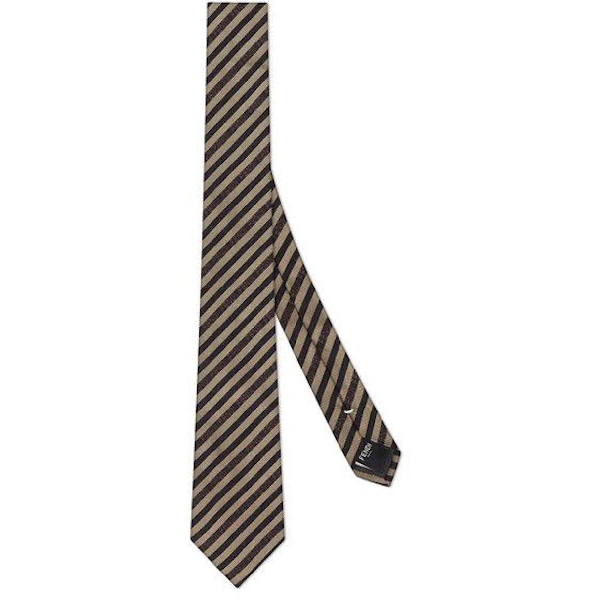 Multicolour Silk Tie: image 1