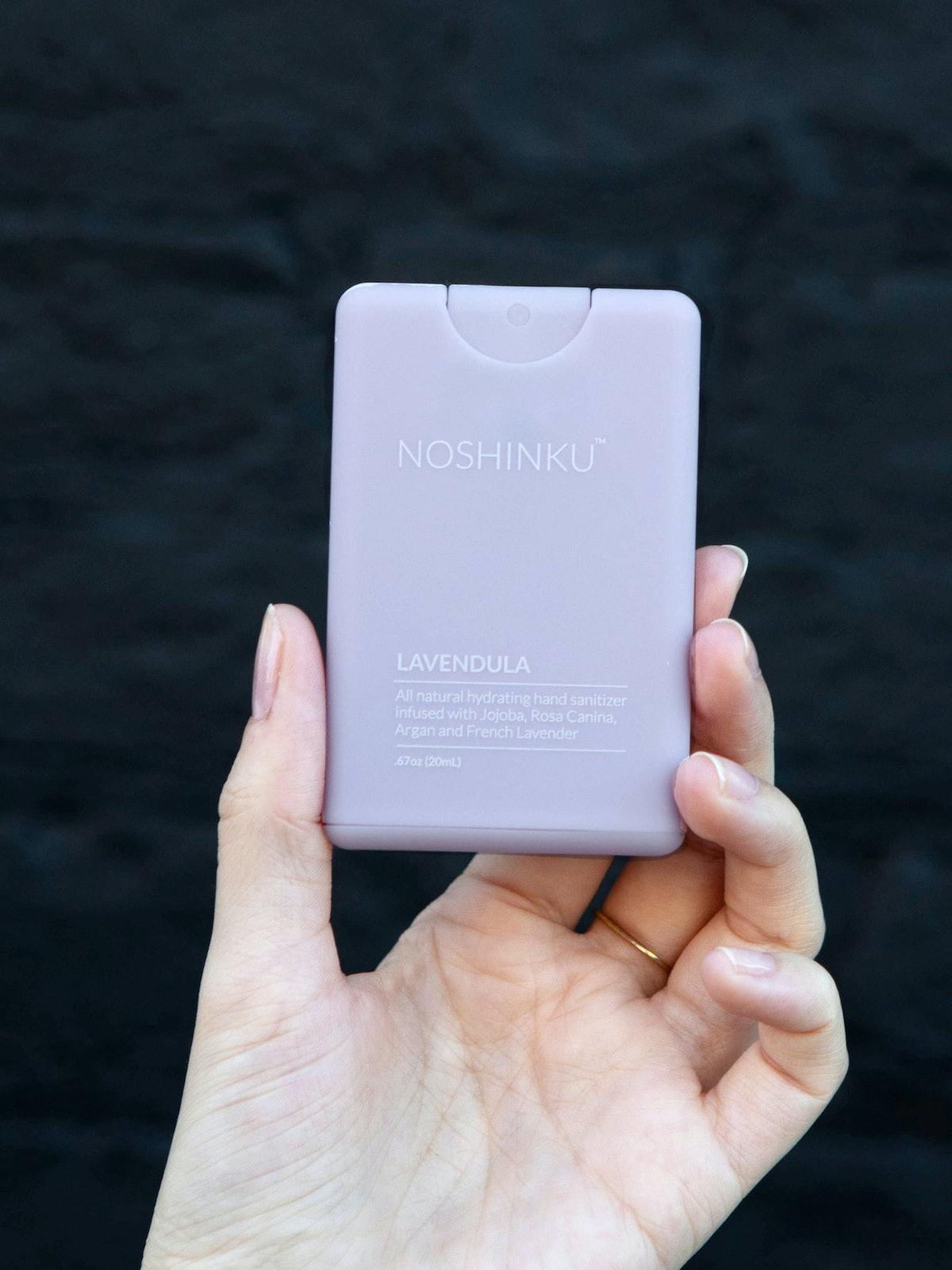 Lavendula Pocket Hand Sanitizer: additional image