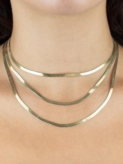 Herringbone Necklace: image 1