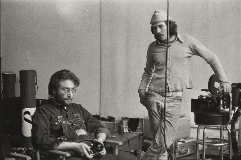 09_John Lennon and Danny Seymour the Bowery New York.jpg