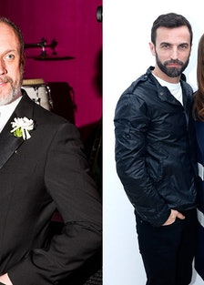 Peter Copping, Nicolas Ghesquière, and Alicia Vikander