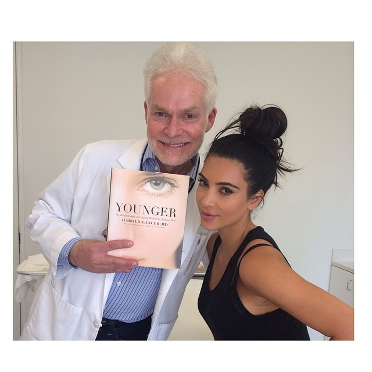 Kim Kardashian and Dr. Lancer
