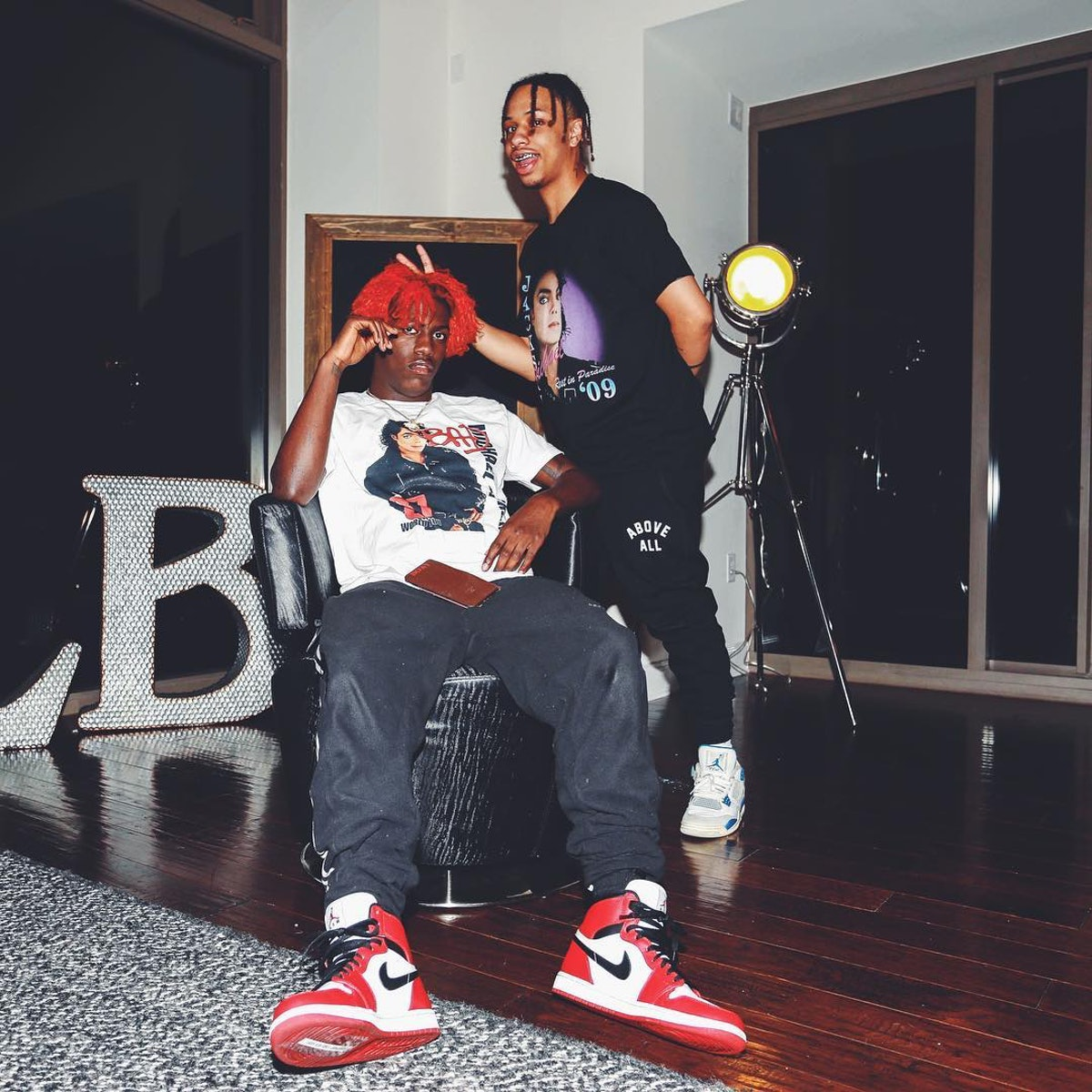 Burberry Perry and Lil Yachty