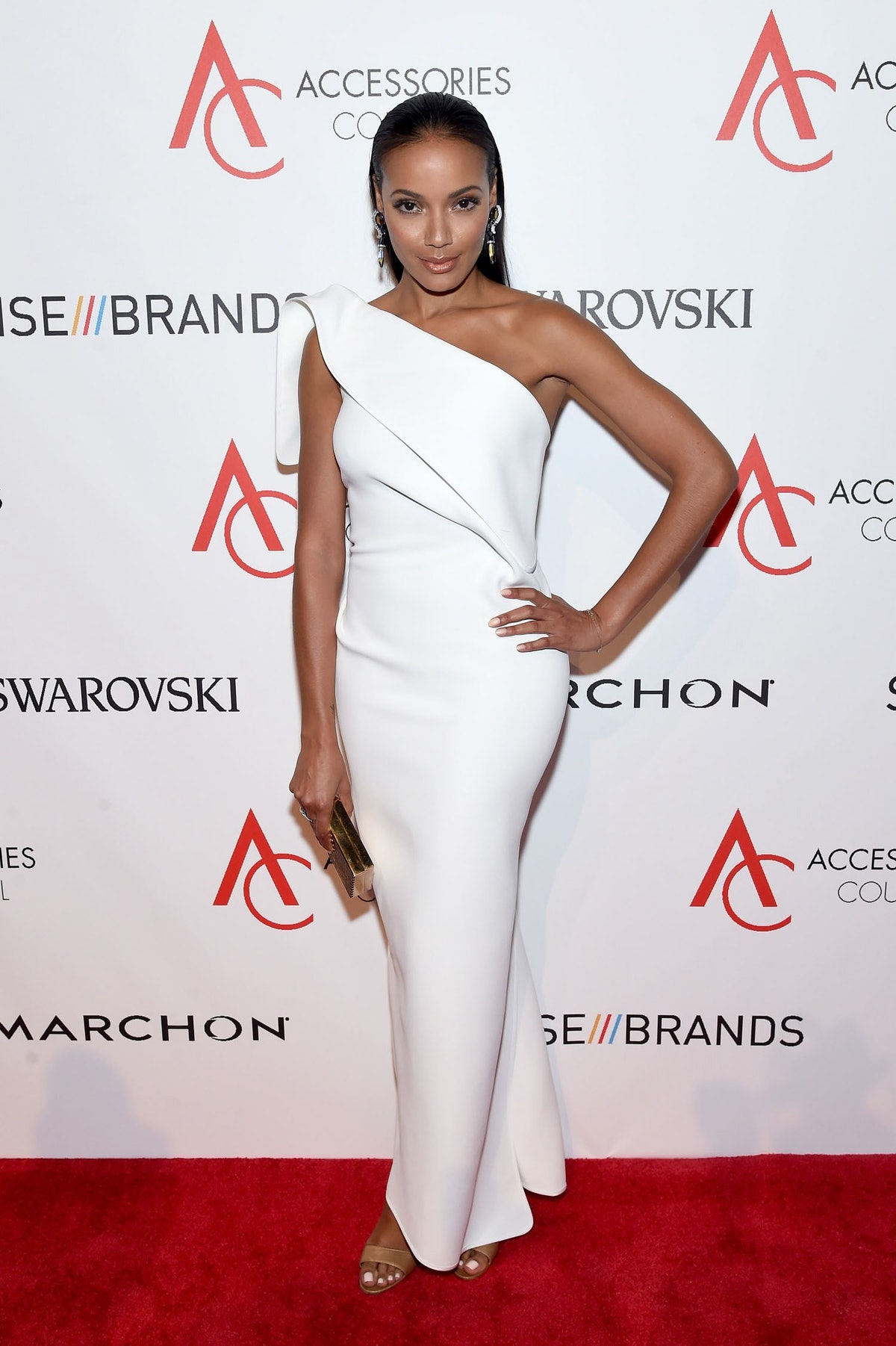 Selita Ebanks attends the 20th Anniversary of the ACE Awards.jpg