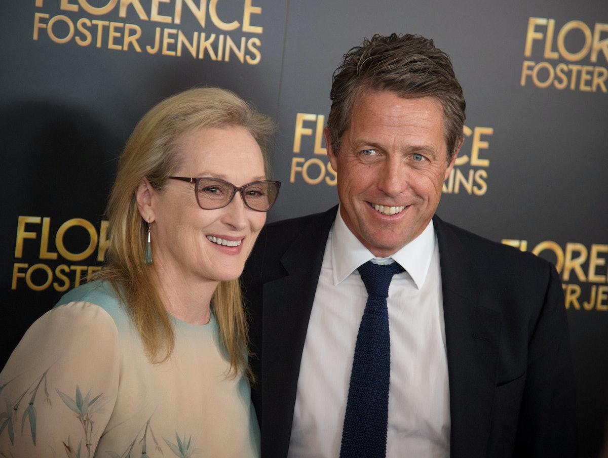 Hugh Grant and Meryl Streep