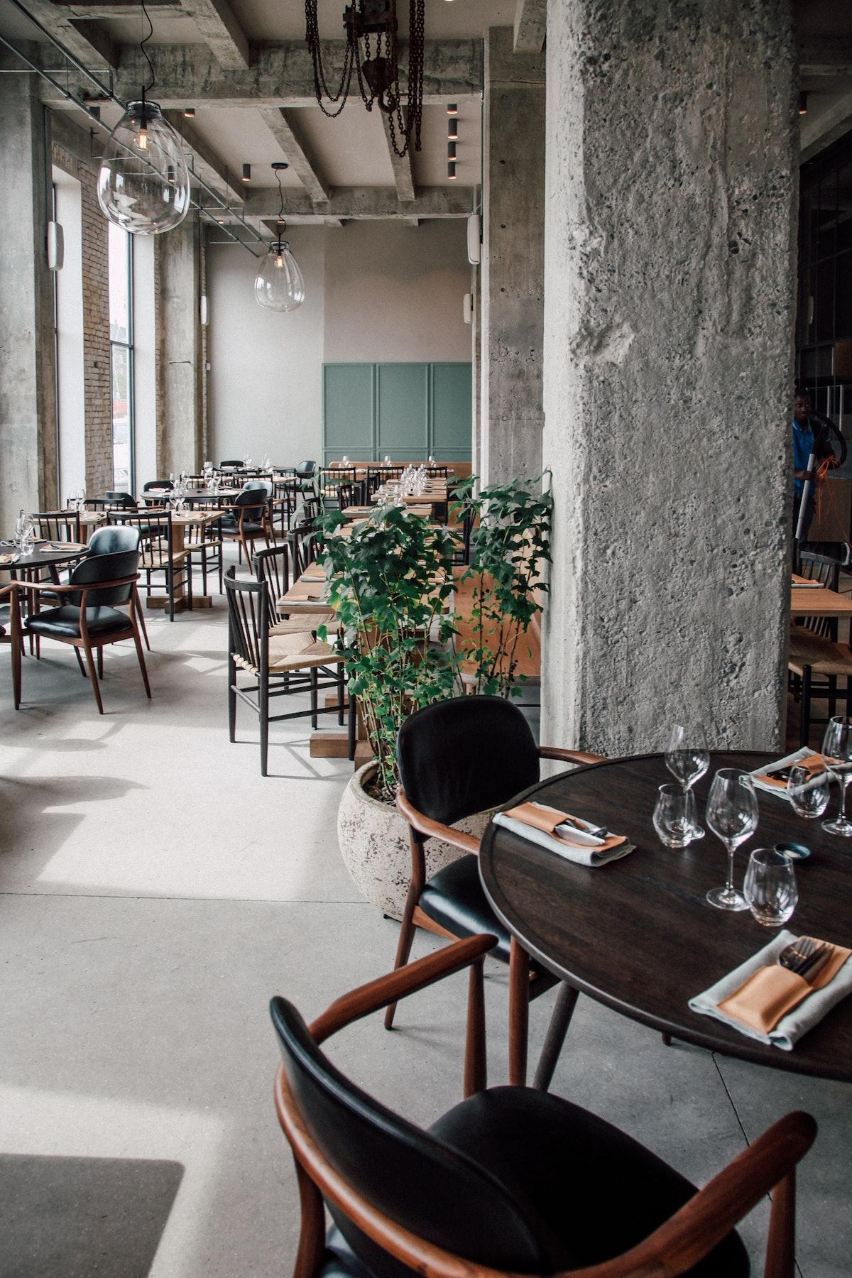 108 restaurant in Copenhagen.