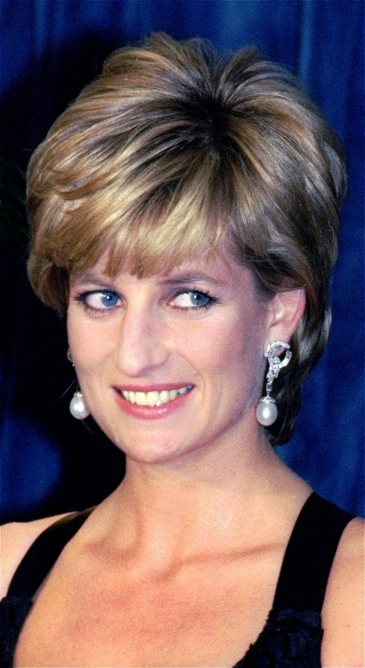 Princess Diana with a blowout