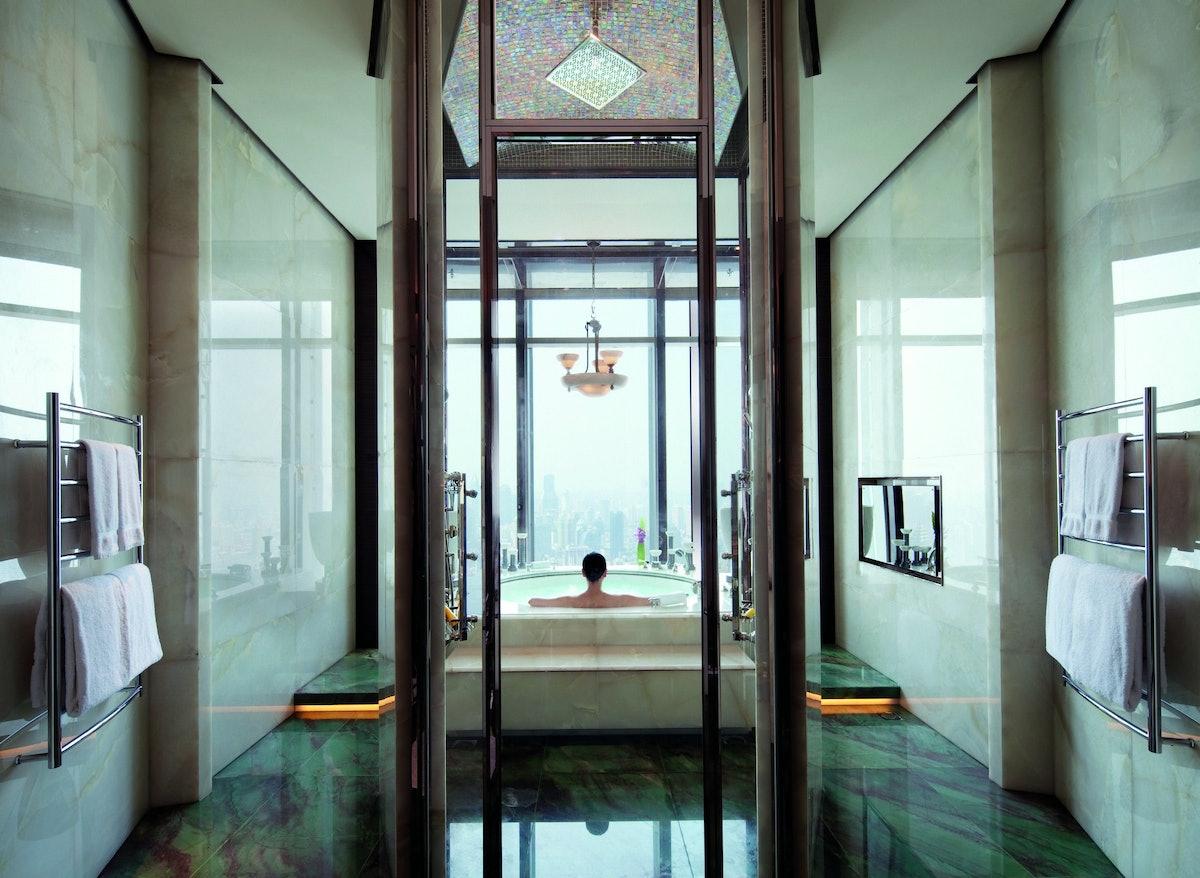 Ritz-Carlton Shanghai Suite - bathroom (with talent).jpg