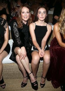 Julianne Moore and Liv Freundlich