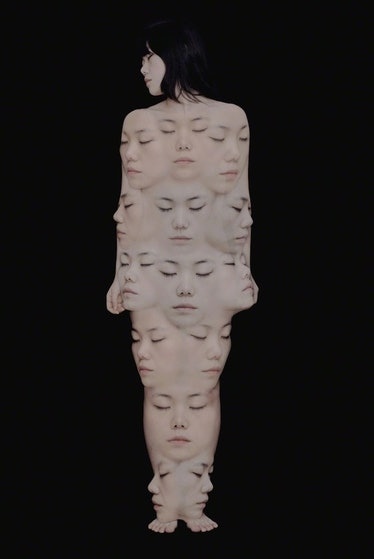 AHN SUN MI - Auto Portrait 3 - The Untitled Space - SELF REFLECTION exhibit.jpg