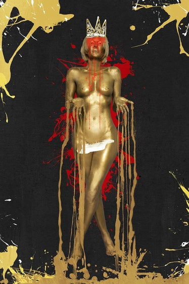 Karen Bystedt - Gold Queen of Compassion - The Untitled Space - SELF REFLECTION exhibit.jpg