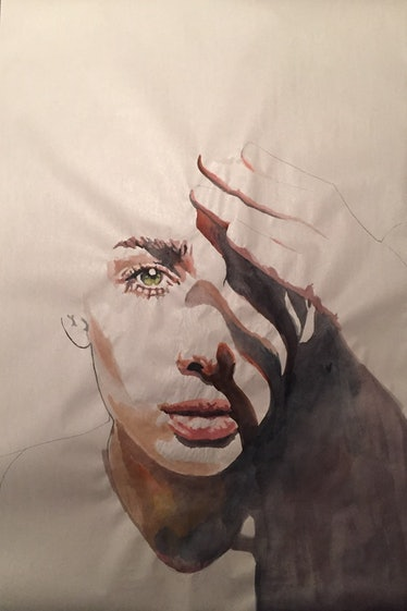 REBECCA DAYAN - Self Portrait - The Untitled Space - SELF REFLECTION exhibit.jpg