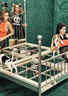 Ryan Rrecartin - Gigi Hadid, Kendall Jenner - November 2016