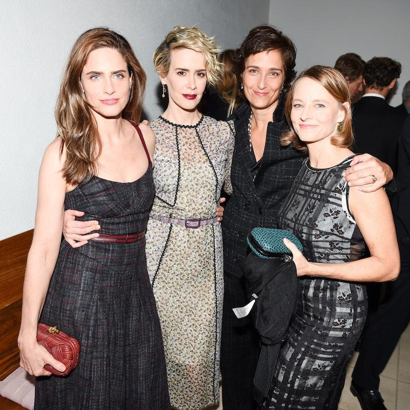 Amanda Peet, Sarah Paulson, Alexandra Hedison and Jodie Foster.jpg