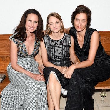 Andie Macdowell, Jodie Foster, Alexandra Hedison.jpg